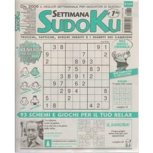 Settimana Sudoku - n. 669 - settimanale - 8 giugno 2018 - tutti i venerdì in edicola
