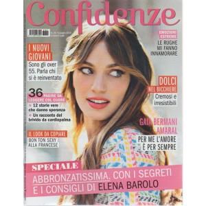 Confidenze - N. 24 - 5 giugno 2018 - settimanale