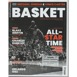 Rivista Ufficiale NBA - mensile n. 129 Febbraio 2018 numero speciale BASKET
