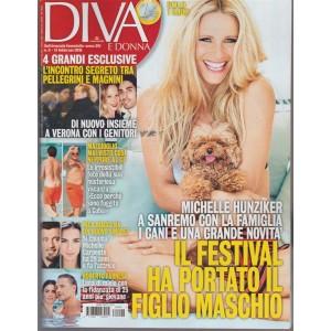Diva e Donna - settimanale n. 6 - 13 febbraio 2018 Michelle Hunziker a Sanremo