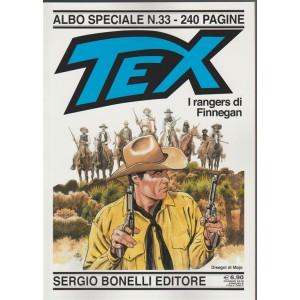 Tex Gigante - I Rangers Di Finnegan - Albo speciale n. 33 - giugno 2018 - annuale- 240 pagine