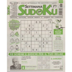 Settimana Sudoku