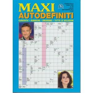 Maxi Autodefiniti n. 66 - luglio - settembre 2018 - trimestrale