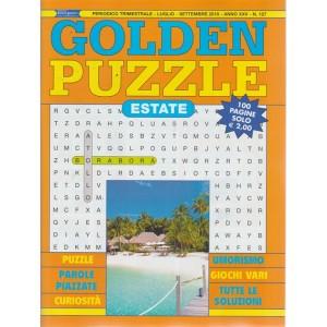 Golden Puzzle estate n. 127 - periodico trimestrale - luglio - settembre 2018 - 100 pagine