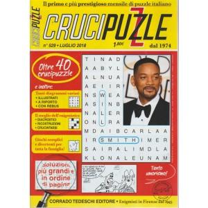 Crucipuzzle n. 529 - luglio 2018 - mensile