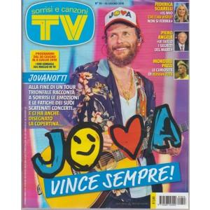 Sorrisi E Canzoni Tv - n. 26 - 26 giugno 2018 - settimanale