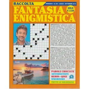 Raccolta Fantasia Enigmistica - n. 340 - periodico - luglio - settembre 2018