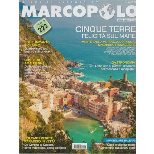 Marco Polo - Cinque Terre  - n. 6 - mensile - luglio 2018 -
