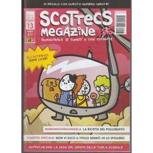 Scottecs Megazine by SIO-trimestrale di fumetti e cose Furbuffe n.13 Gennaio2018