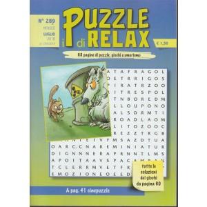 I Puzzle Di Relax - n. 289 - mensile - luglio 2018 -