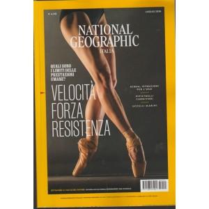 National Geographic - Velocita' Forza Resistenza - n. 1 volume 42 - mensile - luglio 2018 -