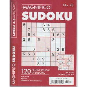 Magnifico Sudoku - n. 43 - bimestrale