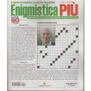 Enigmistica Piu' - n. 27 - 11 luglio 2018 - ogni mercoledì in edicola