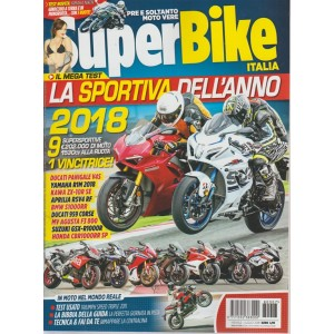 Superbike Italia - n. 7 - mensile - luglio 2018 -