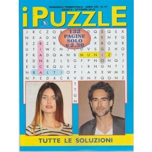 I Puzzle - n. 47 - trimestrale - agosto - ottobre 2018  - 132 pagine