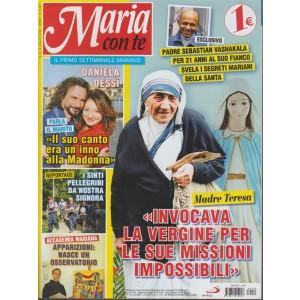 Maria Con Te -  n. 9 - 8 luglio 2018 - settimanale