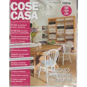 Cose Di Casa + - Casa In Fiore - n. 7 - luglio 2018 - mensile