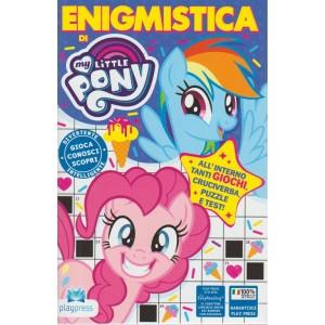 Enigmistica di my little pony - n- 7 - bimestrale - luglio - agosto 2018 -