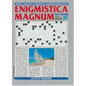 Enigmistica Magnum n. 82 - trimestrale - agosto - ottobre 2018 - 452 pagine