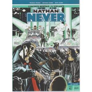 Nathan Never - n. 41 - settimanale - Concerto mortale - Il vigilante - 192 pagine