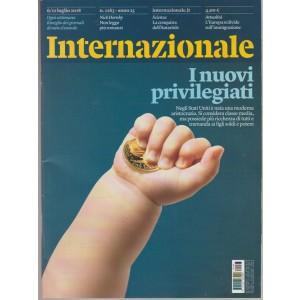 """Internazionale - settimanale n. 1263 - 6 Luglio 2018 """"I nuovi privilegiati"""""""