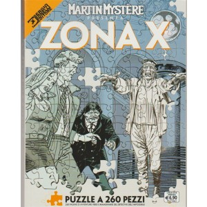 Maxi Martin Mystere - Annuale n. 9 Luglio 2018 - ZONAX: Puzzle in 260 pezzi