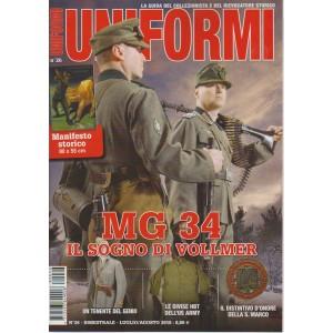 Uniformi - n. 26 - bimestrale - luglio/agosto 2018 -