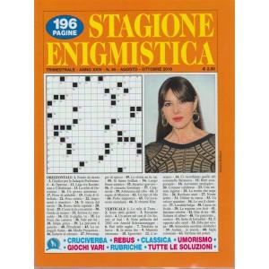 Stagione Enigmistica - n. 95 - trimestrale - agosto - otobre 2018 -