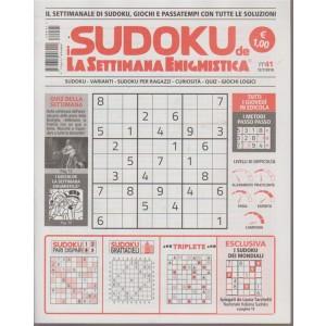 I Sudoku de la settimana - n- 41 - 12/7/2018 -