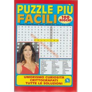 Puzzle Piu' Facili - n. 61 - bimestrale - agosto - settembre 2018 - 100 giochi -