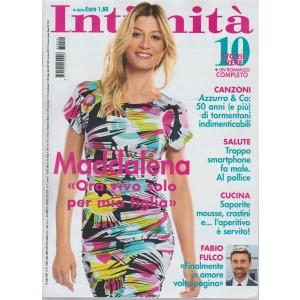 Intimita' - M. Corvaglia - n. 29 - 25 luglio 2018 - settimanale