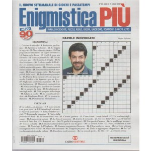 Enigmistica Piu' - n. 29 - 25 luglio 2018 - settimanale - ogni mercoledì in edicola