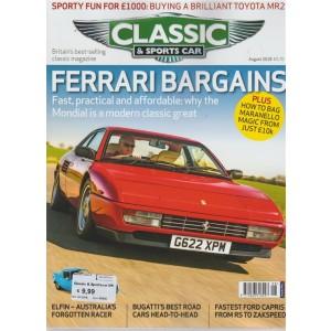 Classic & Sportscar  n. 8 - august 2018 - in inglese