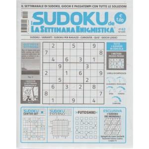 I sudoku de La settimana enigmistica - n. 42 - 19/7/2018 - settimanale - tutti i giovedì in edicola