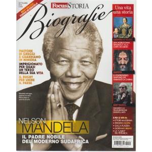 Gli speciali di Focus storia - biografia di Nelson Mandela - settembre 2018 -