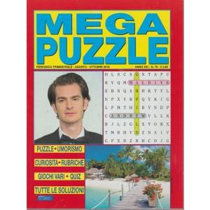 Mega Puzzle - n. 78 - trimestrale - agosto - ottobre 2018 -