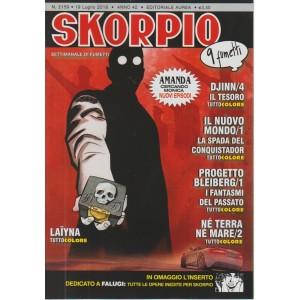 Skorpio - n. 2159 - 19 luglio 2018 - settimanale di fumetti