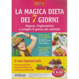 Dimagrire Compiega - La magica dieta dei 7 giorni - n. 196 - agosto 2018 -
