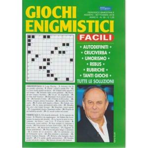 Giochi Enigmistici Facili - n. 58 - bimestrale - agosto - settembre 2018