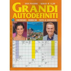 Grandi Autodefiniti - n. 49 - trimestrale - agosto - ottobre 2018 - 244 pagine