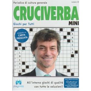 Cruciverba Mini - n. 32 - bimestrale - 19/72018 - Periodico di cultura generale