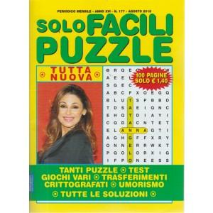 Solo Facili Puzzle - n. 177 - mensile - agosto 2018