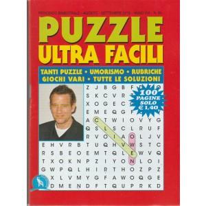 Puzzle Ultra Facili - Bimestrale n. 83 Agosto 2018 - 100 pagine