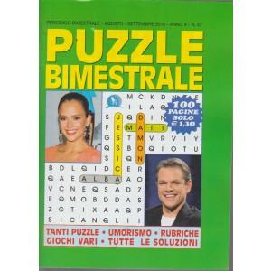 Puzzle Bimestrale - n. 57 - bimestrale - agosto - settembre 2018 - 100 pagine