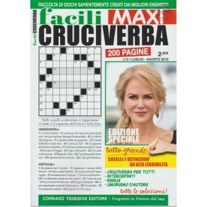 Facili Cruciverba Maxi - n. 2 - luglio - agosto 2018 - 200 pagine -