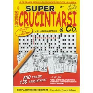 Super crucintarsi & Co. n. 36 - luglio - agoato 2018 - bimestrale - 200 pagine - 130 crucintarsi