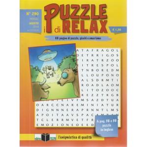 I Puzzle Di Relax - n. 290 - mensile - agosto 2018 -
