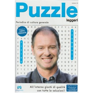 Puzzle Leggeri - n. 31 - bimestrale - 24/7/2018 - periodico di cultura generale