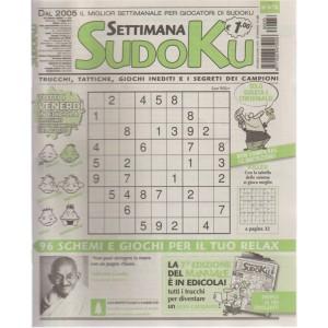 Settimana Sudoku - n. 676 - settimanale - 27 luglio 2018 - tutti i venerdì in edicola