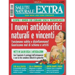 RIZA Salute Naturale Extra - mensile n.105 Febbraio 2018 Antidolorifici naturali
